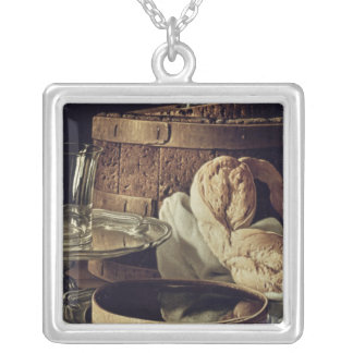 Still Life. The Snack Silver Plated Necklace