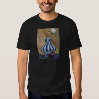 Still Life Vase and Rose T Shirt