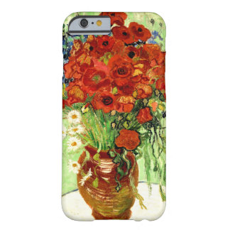 Still Life, Vase with Daisies and Poppies (1890) Barely There iPhone 6 Case