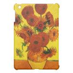 Still Life Vase with Fifteen Sunflowers -Van Gogh iPad Mini Case