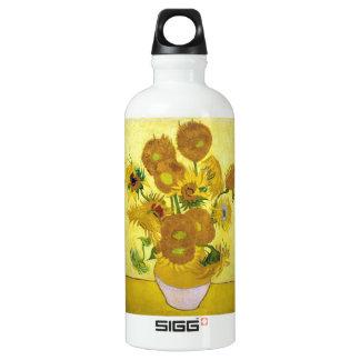 Still Life - Vase with Fifteen Sunflowers van gogh SIGG Traveler 0.6L Water Bottle