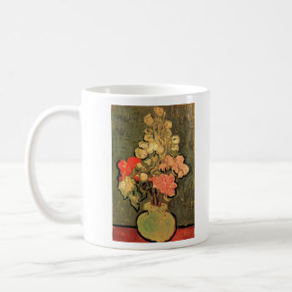 Still Life Vase with Rose-Mallows by Van Gogh Mugs