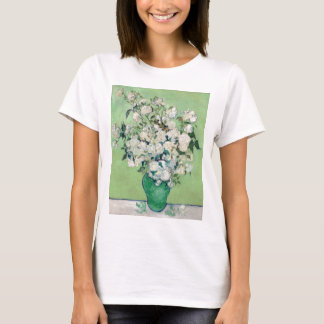 Still Life: Vase with Roses - Vincent Van Gogh T-Shirt