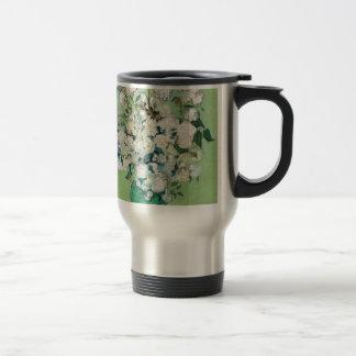 Still Life: Vase with Roses - Vincent Van Gogh Travel Mug