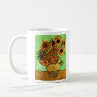 Still Life Vase with Twelve Sunflowers - Van Gogh Coffee Mugs