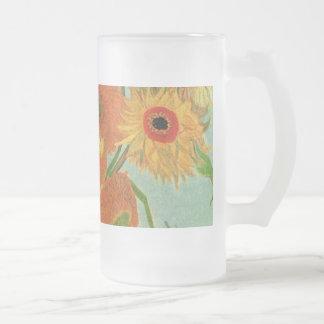 still life - vase with twelve sunflowers, van Gogh Coffee Mug