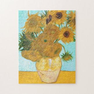 Still Life - Vase with Twelve Sunflowers van Gogh Puzzles
