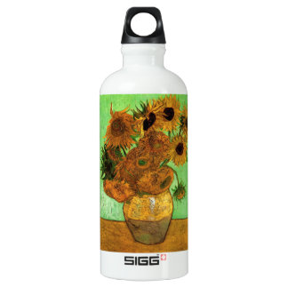 Still Life Vase with Twelve Sunflowers - Van Gogh SIGG Traveler 0.6L Water Bottle