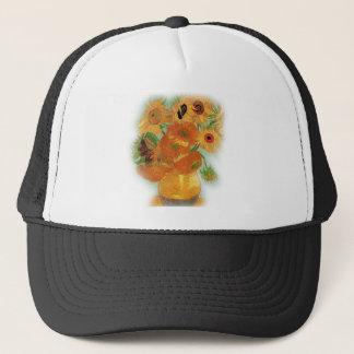 Still life - Vase with twelve Sunflowers, van Gogh Trucker Hat