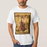 Still Life Violin and Music by William Harnett T-Shirt