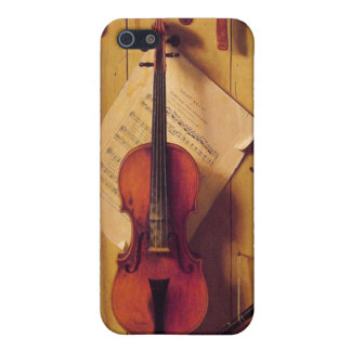 Still life violin and music iPhone SE/5/5s case