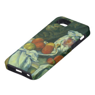 Still Life w Curtain Flowered Pitcher by Cezanne iPhone 5 Covers