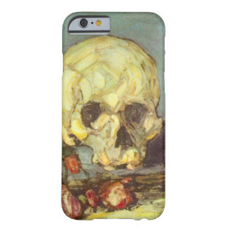 Still Life w Skull, Candle, Book By Paul Cezanne Barely There iPhone 6 Case