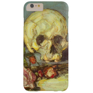 Still Life w Skull, Candle, Book By Paul Cezanne Barely There iPhone 6 Plus Case