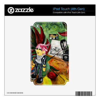 Still Life Watercolor 2016 Decals For iPod Touch 4G