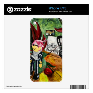 Still Life Watercolor 2016 Decals For The iPhone 4