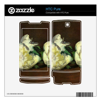 Still life, White Peony by Edouard Manet HTC Pure Decal