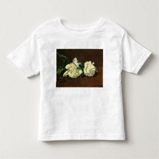 Still life, White Peony by Edouard Manet Toddler T-shirt