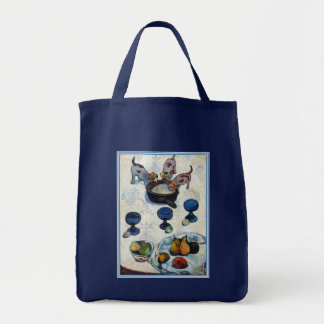 Still Life with 3 Puppies by Paul Gauguin Tote Bag