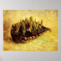 Still life with a basket of crocuses, Vincent Poster