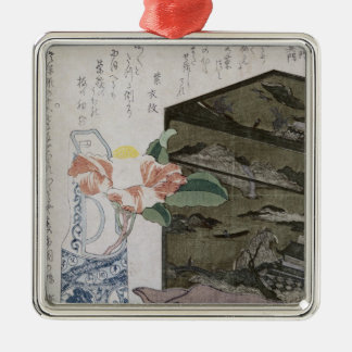 Still Life with a Camelia, c.1820 Metal Ornament