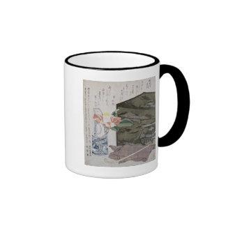 Still Life with a Camelia, c.1820 Ringer Mug