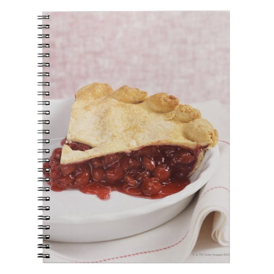 Still Life With a Cherry Pie Spiral Notebook
