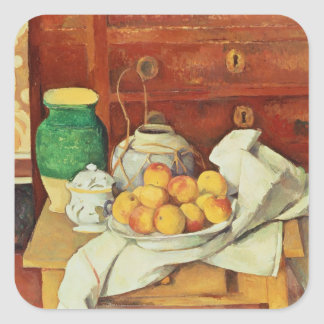 Still Life with a Chest of Drawers, 1883-87 Square Sticker