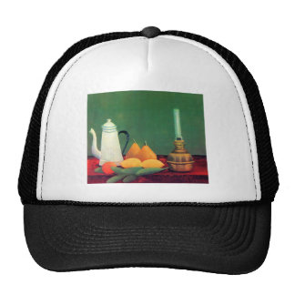 Still life with a coffee pot by Theodore Rousseau Trucker Hat