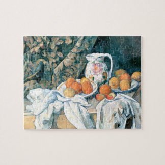 Still Life with a Curtain by Cezanne Puzzle
