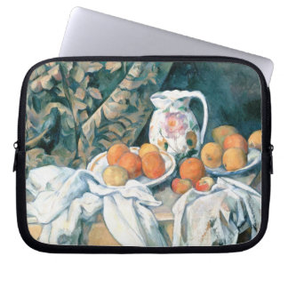 Still Life with a Curtain Laptop Case Laptop Sleeve