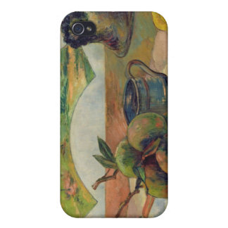 Still Life with a Fan, c.1889 iPhone 4/4S Cases