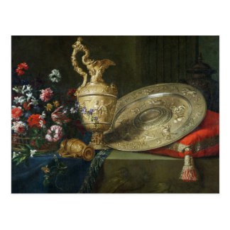 Still Life with a Gilded Ewer Postcard