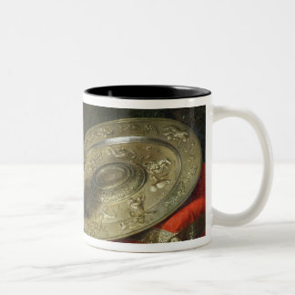 Still Life with a Gilded Ewer Two-Tone Coffee Mug