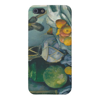 Still Life with a Ginger Jar and Eggplants Cézanne Case For iPhone 5