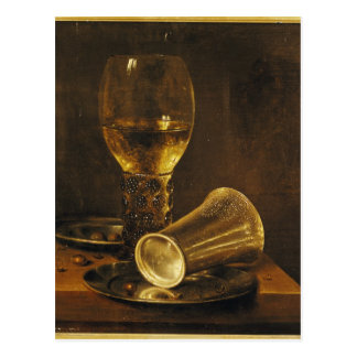 Still Life with a Goblet, 1653 Postcard