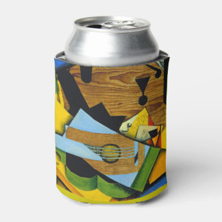 Still Life with a Guitar by Juan Gris Can Cooler