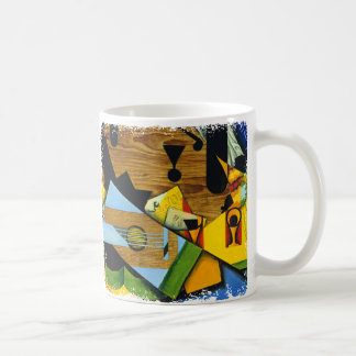 Still Life with a Guitar by Juan Gris Coffee Mug