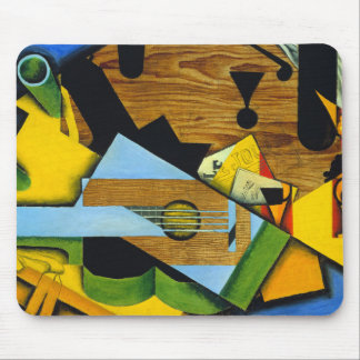 Still Life with a Guitar by Juan Gris Mouse Pad