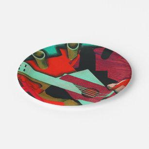 Still Life with a Guitar by Juan Gris Paper Plate  sc 1 st  Zazzle & Juan Gris Plates | Zazzle