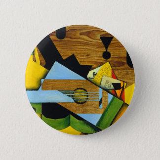 Still Life with a Guitar by Juan Gris Pinback Button