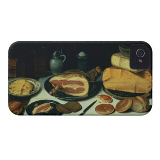 Still Life with a Ham (oil on panel) iPhone 4 Case