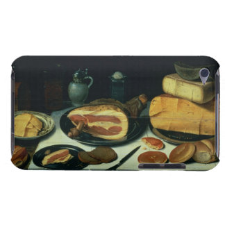 Still Life with a Ham (oil on panel) iPod Touch Case