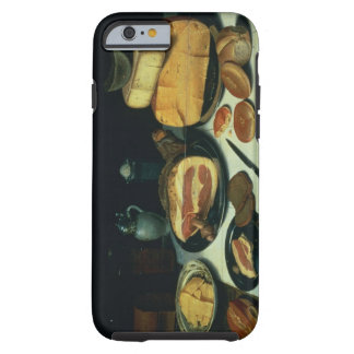 Still Life with a Ham (oil on panel) Tough iPhone 6 Case