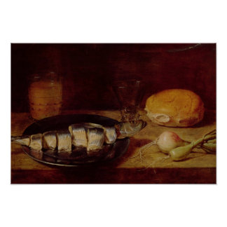 Still Life with a Herring Poster