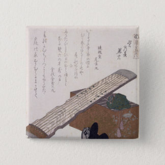 Still Life with a Koto, c.1810 Pinback Button
