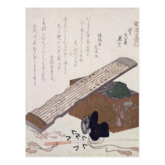 Still Life with a Koto, c.1810 Postcard