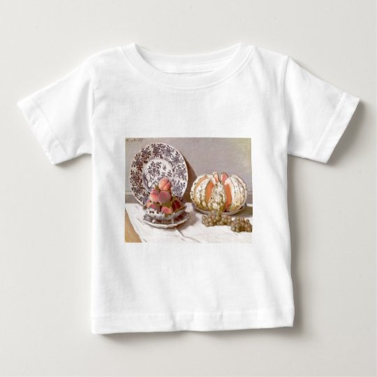 Still Life with a Melon (1872) Baby T-Shirt