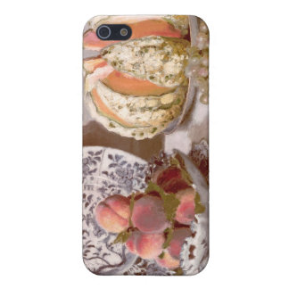 Still Life with a Melon - Claude Monet Cover For iPhone SE/5/5s