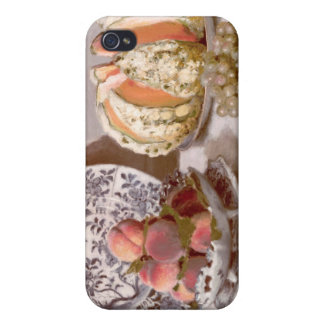 Still Life with a Melon - Claude Monet iPhone 4 Covers
